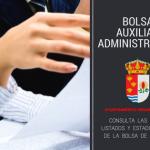 Bolsa de Auxiliar Administrativo