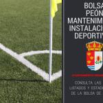 Bolsa de Peón de Mantenimiento Instalaciones Deportivas