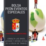 Bolsa de limpieza y mantenimiento de Eventos Municipales