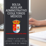 Bolsa de Trabajo de Auxiliar Administrativo Consultorios Medicos