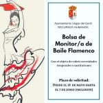 Bolsa de sustituciones Monitor/a de Baile Flamenco