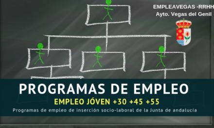 Programa EMPLE@JOVEN, EMPLE@30+ Y EMPLE@45+