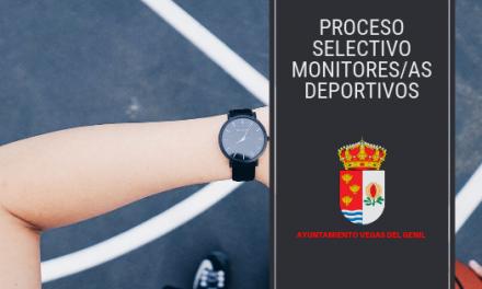 Convocatoria de tres plazas de Monitor/a de Funcionario Interino