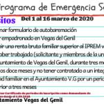 Nuevo plazo del Programa de Emergencia Social