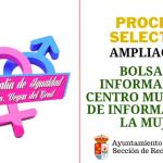 Ampliación bolsa de Informador/a del Centro Municipal de Información a la Mujer