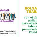 Bolsas de empleo con el objeto de paliar las necesidades socio-laborales provocadas por el Covid-19